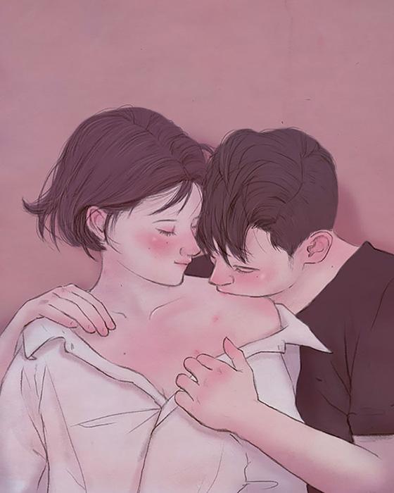Ценить мимолетные поцелуи.  Автор: Hyocheon Jeong.