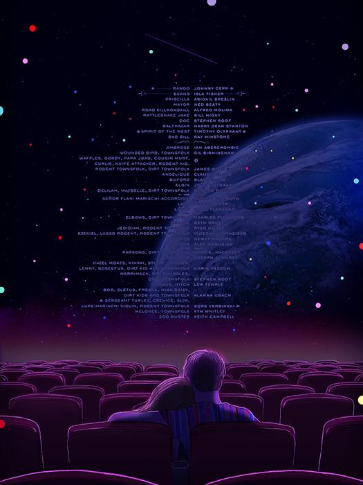 Оставаться немного подольше в кинотеатре после хорошего фильма.  Автор: Hyocheon Jeong.