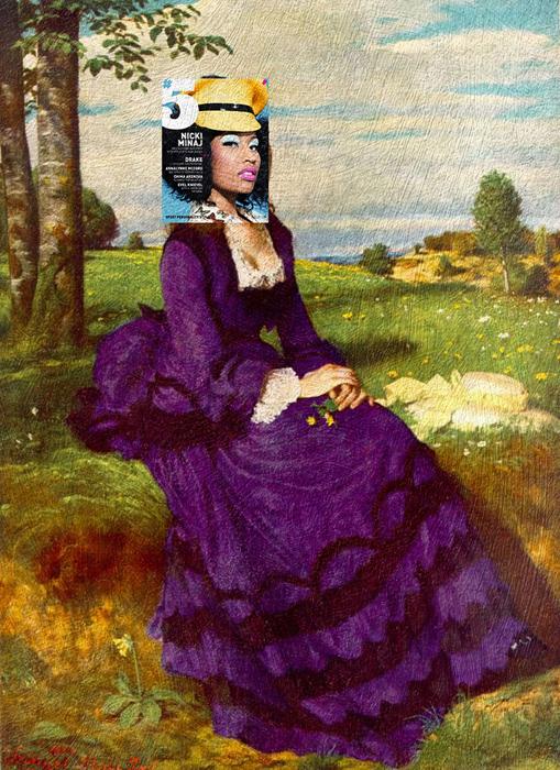 Ники Минайл + *Девушка в фиолетовом