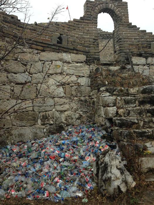 Горы мусора.