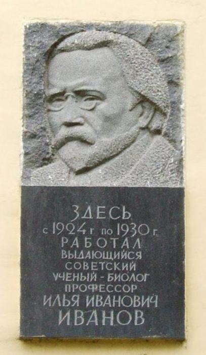 Доска на здании ВИЭВ в Кузьминках.