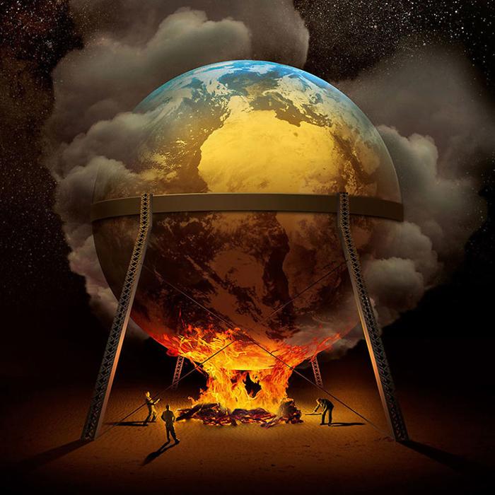 Глобальное потепление. Автор: Igor Morski.