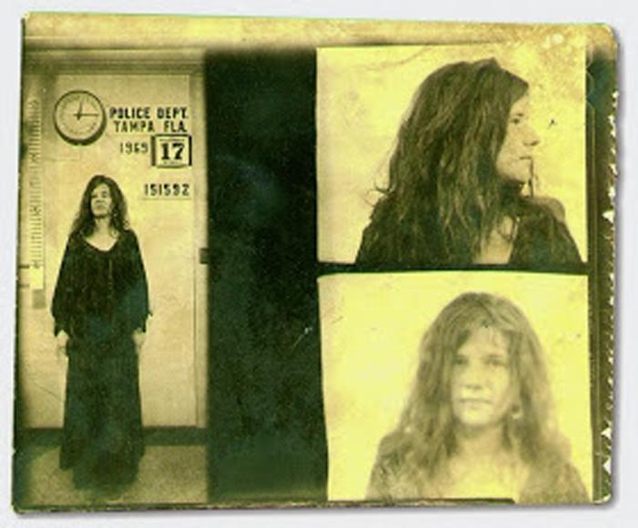 Фотография под арестом: Janis Joplin.