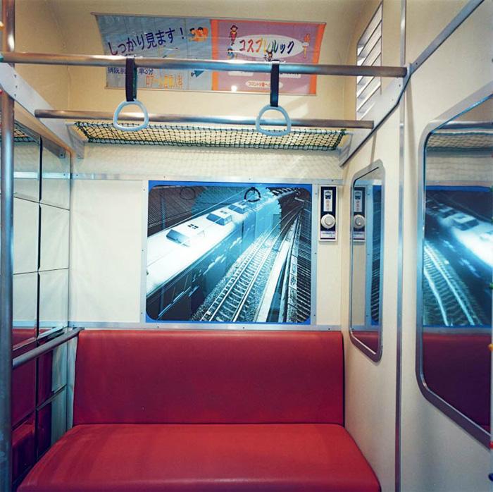 Вагон поезда. Автор фото: Misty Keasler.