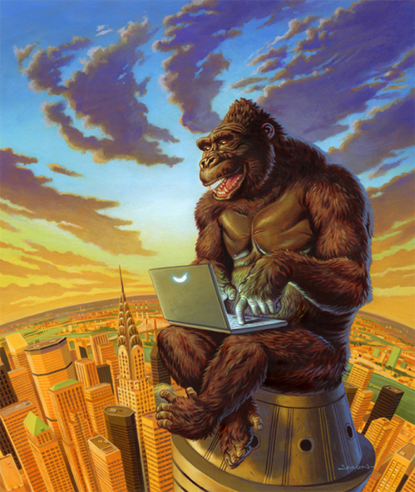 Блог Кинг Конга. Автор: Jason Edmiston.