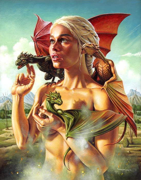 Мать драконов. Автор: Jason Edmiston.