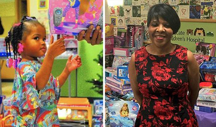 Джесси Тендайи, официантка, отдающая все сбережения на подарки детям.