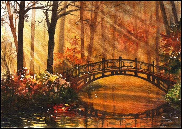 Мост. Автор: Joanna Rosa.