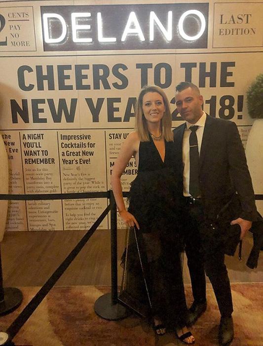 В Нью-Йорке пара приняла участие в вечеринке по теме Джеймса Бонда.