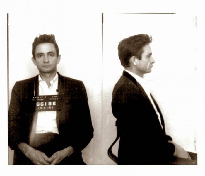 Фотография под арестом: Johnny Cash.
