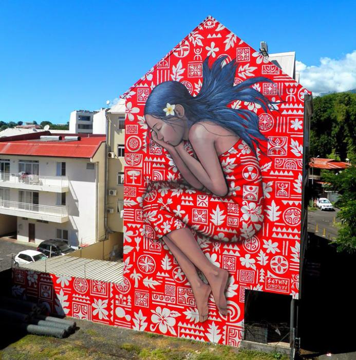 Тайский сон, для фестиваля  Ono'u Festival.  Автор: Julien Malland.