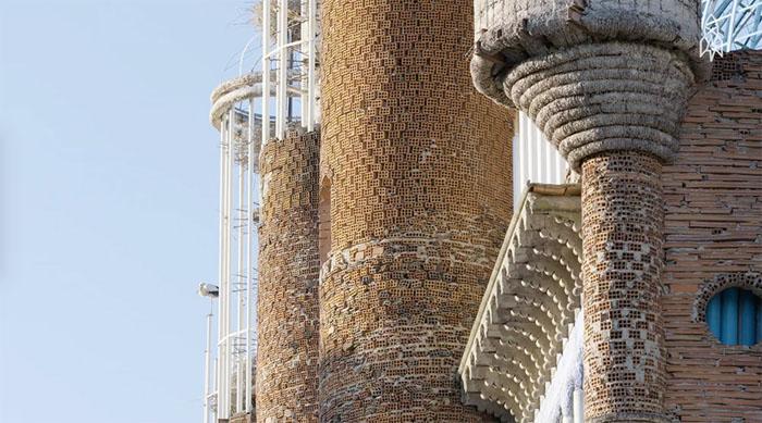 Стены собора Хусто Гальего.