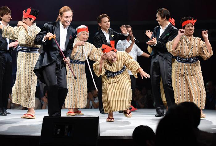 KBG84 - японская группа, средний возраст участниц в которой - 84 года.