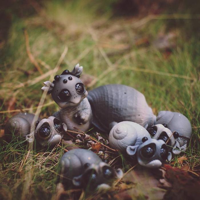 Улиточки. Автор: Katyushka Dolls.