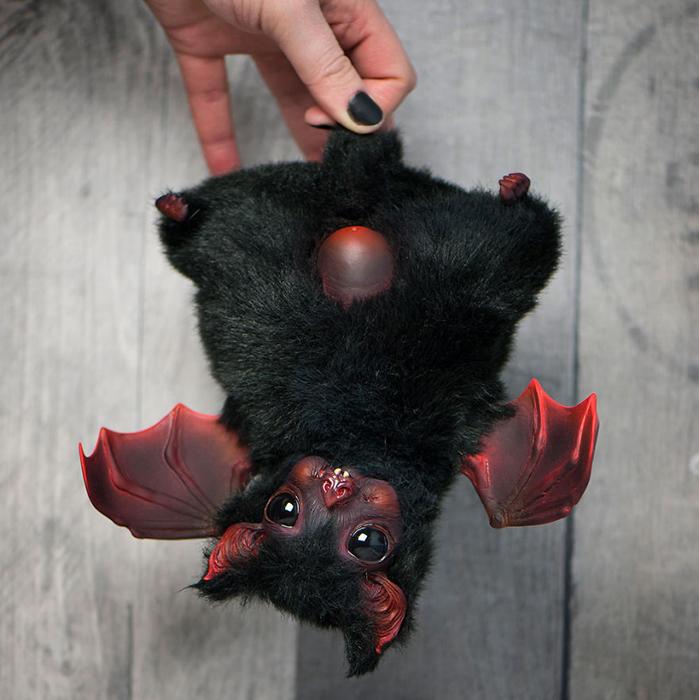 Черная летучая мышка. Автор: Katyushka Dolls.