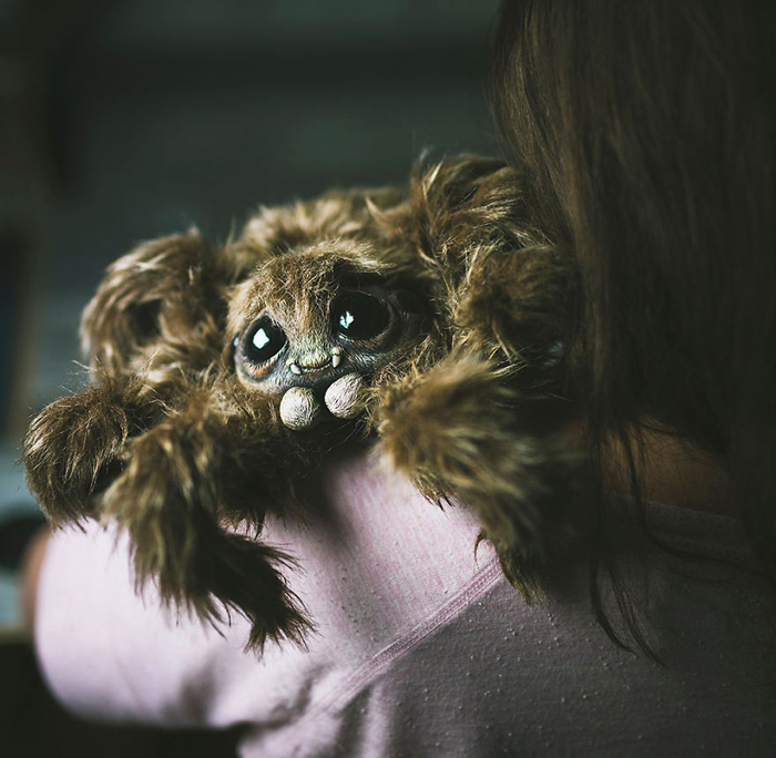 Крошка паучок. Автор: Katyushka Dolls.