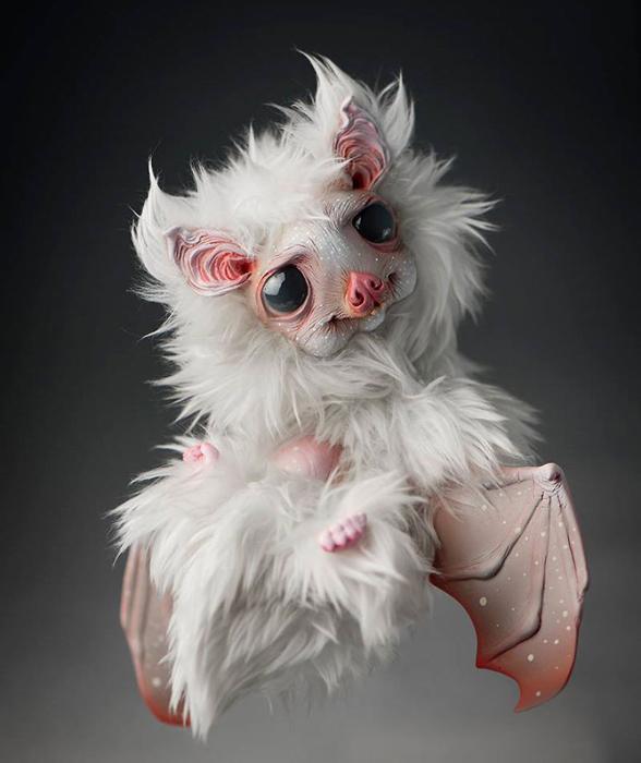 Летучая мышь с полярного полюса. Автор: Katyushka Dolls.