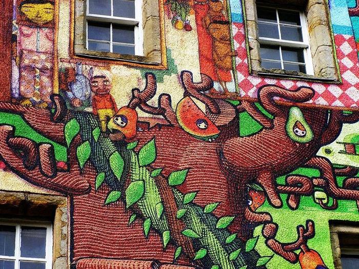 Граффити появилось еще в 2007 году.