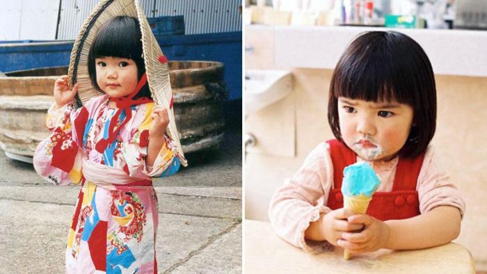 Румяная девчушка, покорившая сердца японцев. Автор фото: Kotori Kawashima.