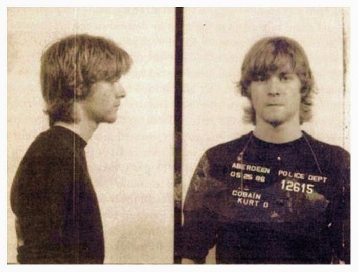 Фотография под арестом: Kurt Cobain.