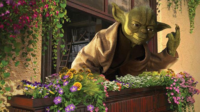 Мастер Йода в мирное время. Автор: Kyle Hagey.