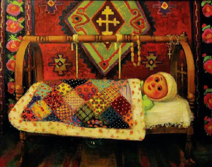 Картины грузинского художника.