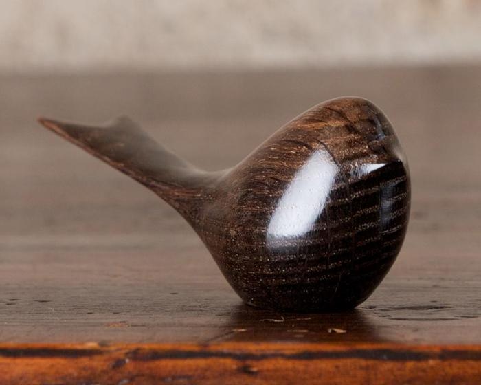Деревянная птичка. Автор: Рerry Lancaster.