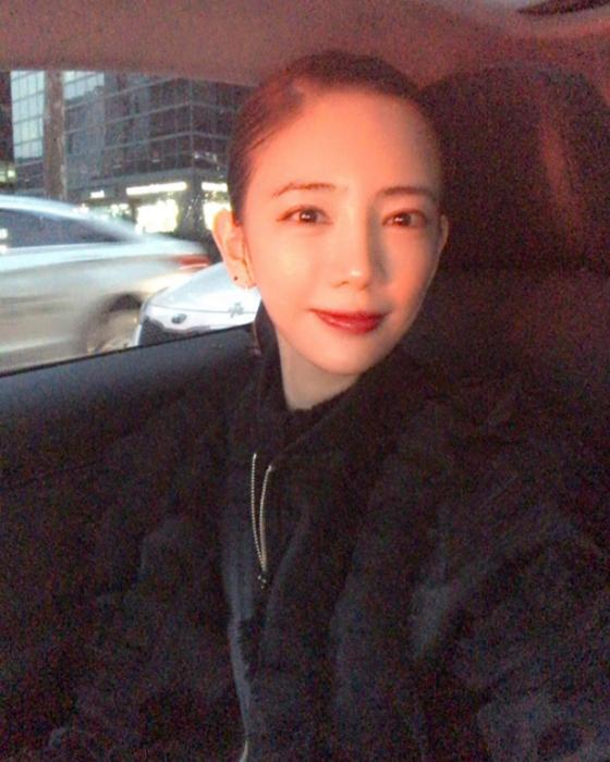Одно из последних фото корейской молодой актрисы.