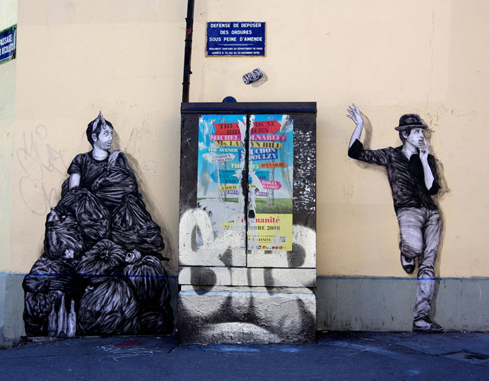 10-й округ Парижа. 7 сентября 2016 г. Автор: Levalet.