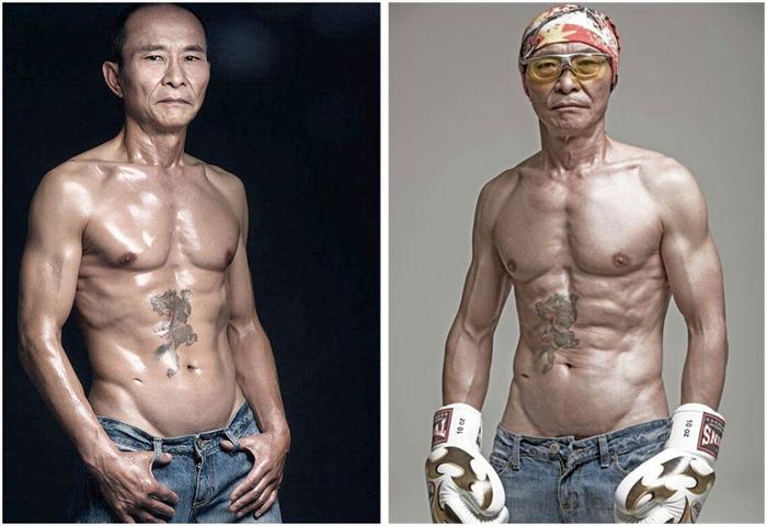 61-летний дедушка добился идеальной физической формы.