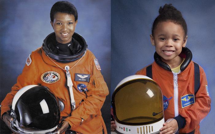 Лили в роли Мэй Джемисон, первой афроамериканки, совершившей полёт в космос.