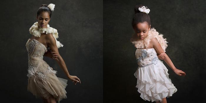 Лили в роли балерины Мисти Коупленд.