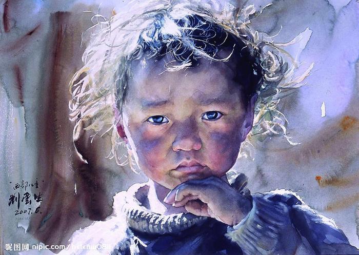 Ребенок. Автор: Liu Yunsheng.