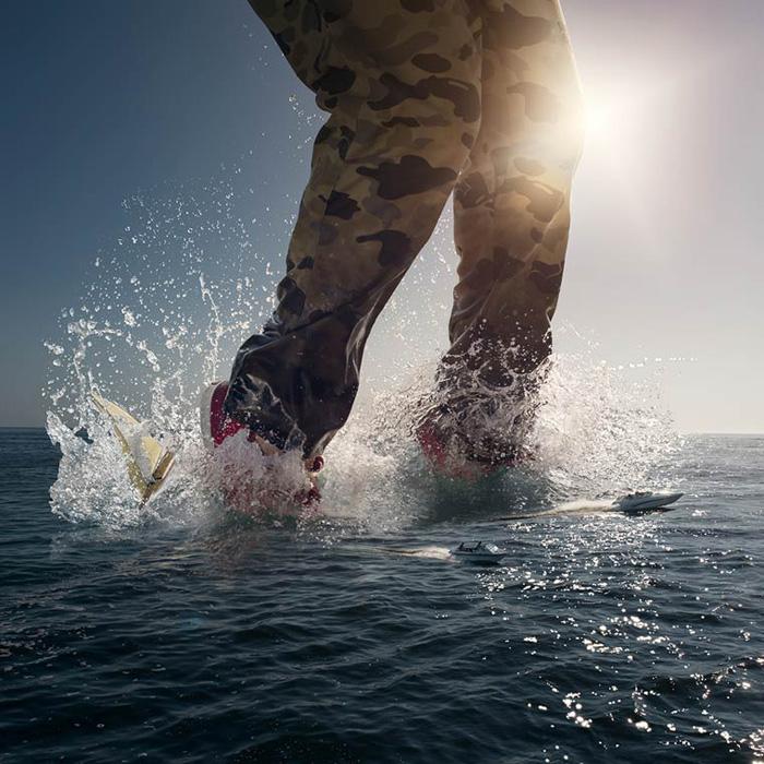 Море по колена.  Автор фото: Logan Zillmer.