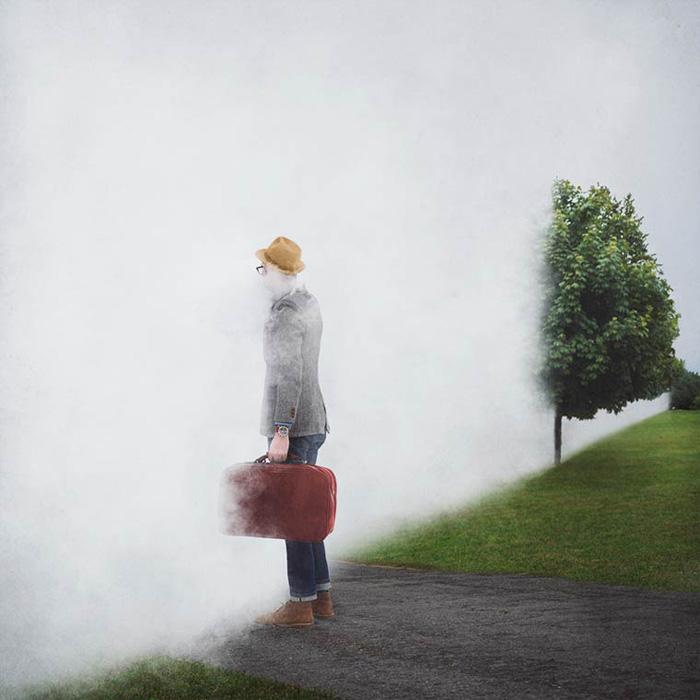 Стена тумана. Автор фото: Logan Zillmer.