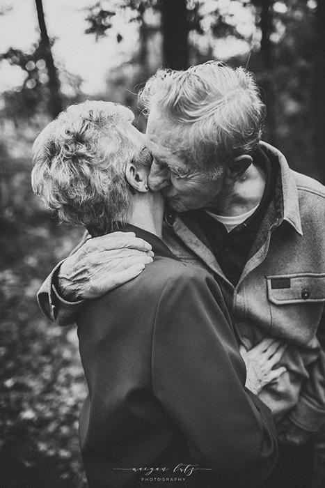 *Они излучали такую любовь, которую мне прежде никогда не доводилось запечатлевать.* Фото: Maegan Lutz.