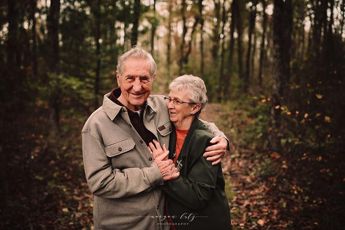 87- и 86-летние супруги. Фото: Maegan Lutz.