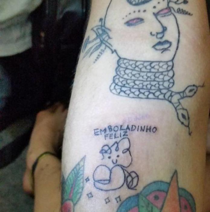 Татуировки от Елены Фернандес из Бразилии.