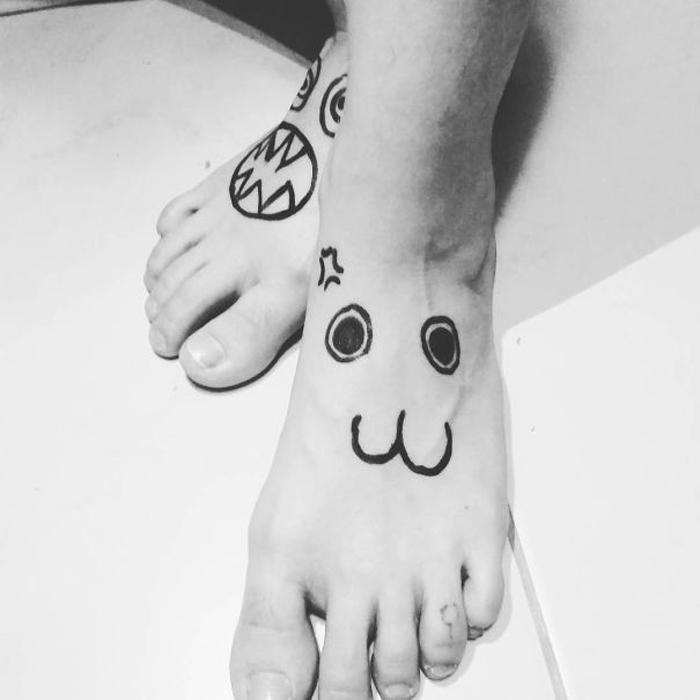Уродливые татуировки от мастера из Бразилии.