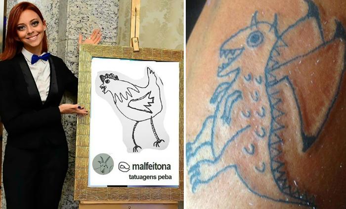 Уникальные татуировки от Елены Фернандес.