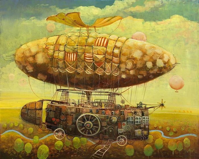 Удивительные картины Modestas Malinauskas.