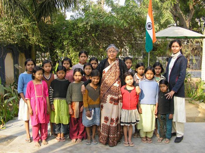 Приют для девочек в Индии.
