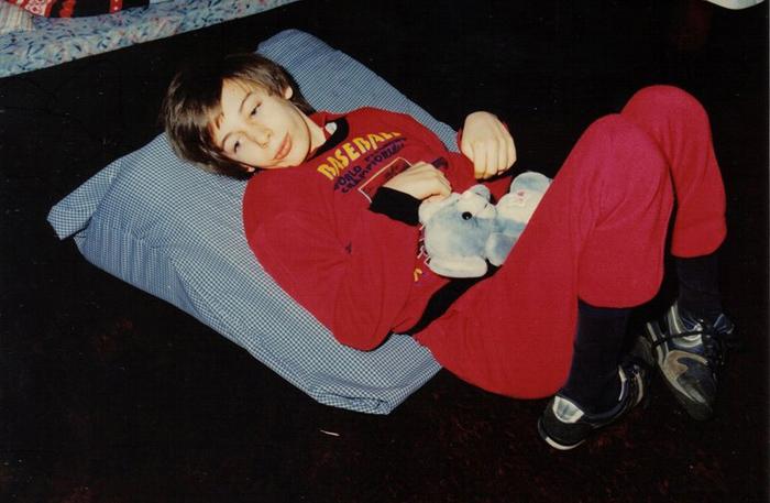 Martin Pistorius, ок 1990-1994 г., в это время парень уже не мог общаться.