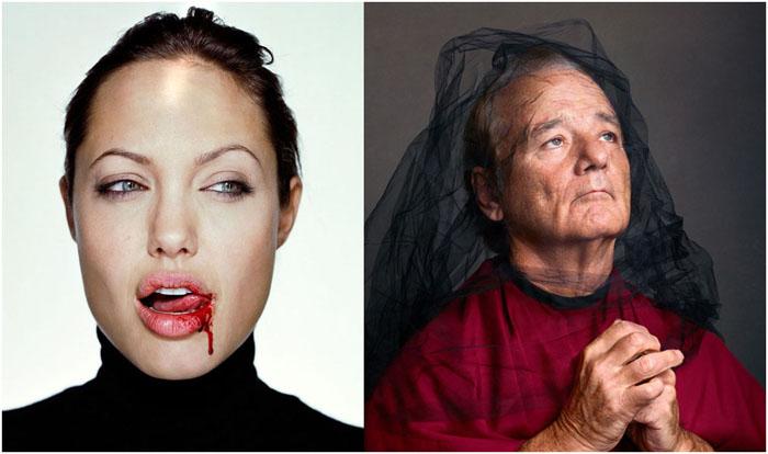 Художественные портреты знаменитостей в объективе Мартина Шоллера.