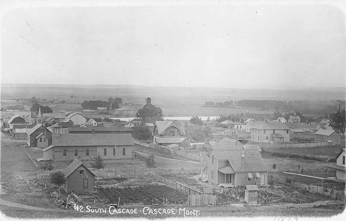 Город Каскад в 1912 году.