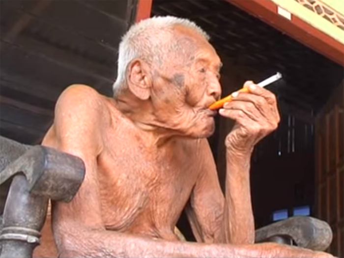Индонезийский долгожитель.
