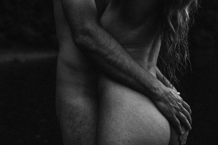 Интимная фотосессия.  Фото: Trina Cary Photography.