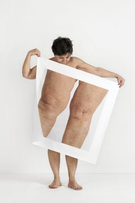 Акцент на определенных частях своего собственного тела. Автор: Meltem Isık.
