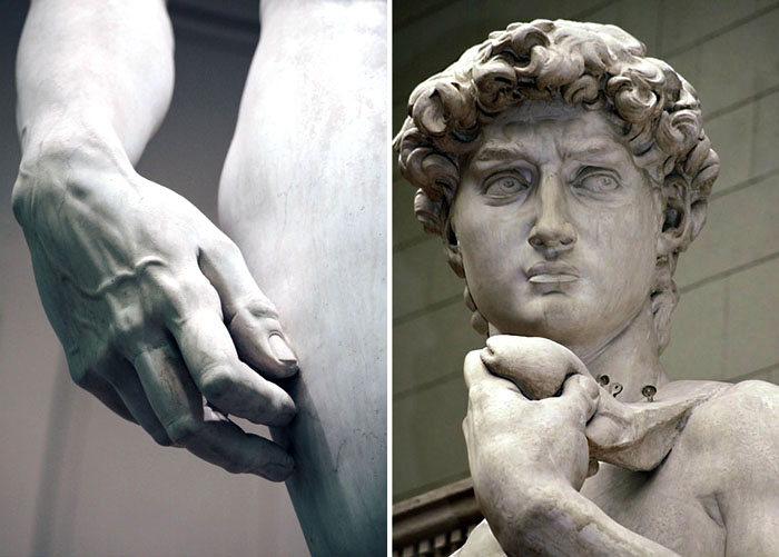 Давид Микеланджело.