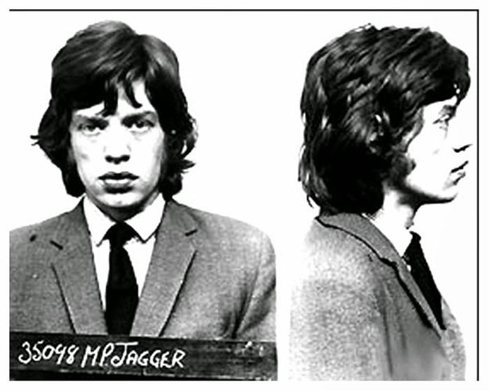 Фотография под арестом: Mick Jagger.